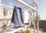 気持ちよく洗濯物が干せる家事の場や、子育ての息抜きの場として。(屋上)
