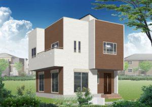屋上庭園付新築住宅