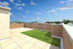 屋上庭園プラン-Basic-自分好みにカスタマイズ出来る一番シンプルなプラン(内観)