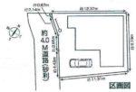 【区画図】南西側約4m私道