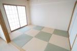 【和室】市松模様の洋風和室6畳(和室)