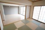 【和室+DK】扉を開けるとDKとつながる広々空間(和室)