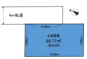【屋上庭園付住宅提案型・売地】~インフィニガーデン緑町~