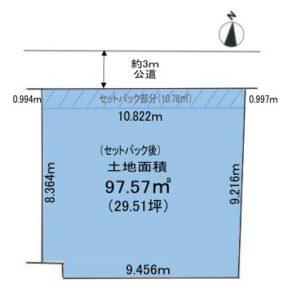 【屋上庭園付住宅提案型・売地】~インフィニガーデン櫛引町~