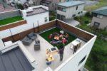 【屋上庭園のある家(イメージ画像)】(外観)