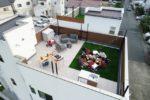 【屋上庭園のある家・イメージ画像】(屋上)