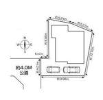 駐車スペース2台可(車種により異なります)(区画図)