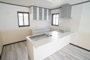 IH・食器洗洗浄乾燥機・カップボードが標準装備(キッチン)