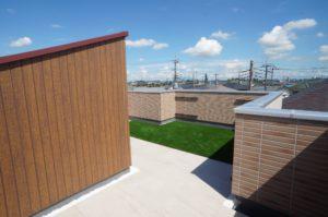【屋上庭園・施工例-Basic-】屋上の防水保証10年付!(屋上)