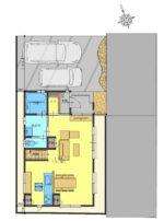 【外構図】駐車スペース並列2台可(車種により異なります)