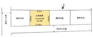 【屋上庭園付住宅提案型売地・全3区画】~インフィニガーデン緑町~