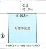 土地面積:125.00㎡(37.81坪)(区画図)